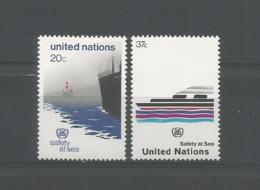 United Nations NY 1983 Safety At Sea Y.T. 385/386 ** - Ongebruikt