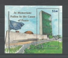 United Nations NY 1999 In Memoriam S/S Y.T. BF 18 ** - Blokken & Velletjes