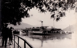 "ORSOVA : BATEAU / SHIP "" JUPITER "" Sur / On DANUBE - CARTE VRAIE PHOTO / REAL PHOTO POSTCARD ~ 1930 - '935 - RRR (ad071) - Roumanie"