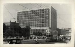 Pakistan, KARACHI, State Bank Of Pakistan, Bus (1960s) RPPC Postcard - Pakistan