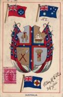 1897/ Australia, Wapen, Vlaggen, 1906 - Australien