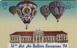 AUSTRIA - Hor Air Balloon Europeans '96 , F7 , Tirage 1050, 03/96 - Oostenrijk