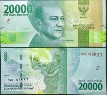 INDONESIA 20,000 20000 RUPIAH 2016 PRINT 2018 P 158 UNC NR - Indonésie