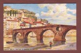 Italia - VERONA - Ponte Della Pietra E Castel S. Pietro - Verona