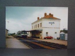 Saulieu 2 BB 67000  En Mai 1991 Photo De Wadsworth - Trains