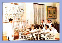 CPM - Palais Des Etudiants Et Des Pionniers - Pyongyang (Corée Du Nord) - Les Pionniers S'adonnant Aux études Des Procéd - Corée Du Nord