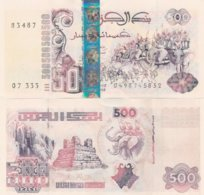 ALGERIA 500 DINARS 10 06 1998 P 141 UNCIRCULATED BANKNOTE Condition - Argelia