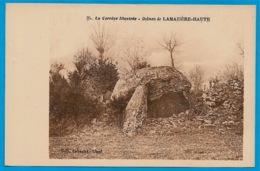 CPA 19 La Corrèze Illustrée - DOLMEN De LAMAZIERE-HAUTE ° Coll. Eyboulet Ussel - France