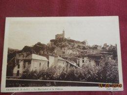 CPSM - Champeix - Le Marchydial Et Le Château - Altri Comuni
