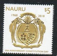 2018 NAURU Albatross On The Coat Of Arms - Uccelli