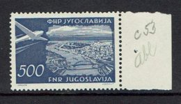 YUGOSLAVIA...airmail...1951...MNH... - Airmail