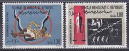 Somalia 1971 Gesellschaft Society Kampf Gegen Rassendiskriminierung Gleichberechtigung Equality Schlangen, Mi. 170-1 ** - Somalie (1960-...)