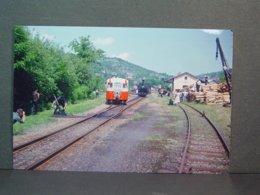 POC Autorail Billard En Gare De Forges En Juin 1964 Tirage De La Photo En 2006 - Trains