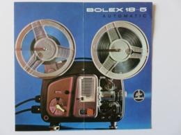 297 - Pub Projecteur Bolex 18-5 Paillard Automatic - 1961 - Paillard SA Ste Croix (Suisse) - Proyectores De Cine