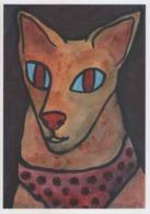 Cpm 1717 ERGON Dans Le Bleu De Mes Yeux - Chat - Katz - Cat - Bête - Animal - Illustrateurs - Illustrateur - Ergon