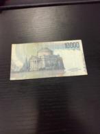 ITALIE Billet De 10000 Lire 1984  En L état Sur Les Photos - 10000 Lire