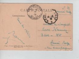 PR7343/ CP S.M. Armée Belge Divers Allemands écrit De Paris C.PMB-BLP 18/6/16 > Militaire Armée C Convoyeur - Army: Belgium