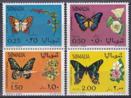 Somalia 1970 Tiere Fauna Animals Schmetterlinge Butterflies Papillion Mariposa Farfalle Insekten Insects, Mi. 155-8 ** - Somalia (1960-...)