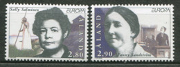 Aland N° 113/114  - Femmes Célèbres Europa 96 - Europa-CEPT