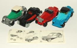 K95 N 98 à 101 : Mercedes-Benz, Alfa Romeo , Bugatti Et Fiat - Montables