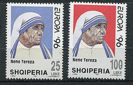 Albanie  - N° 2357/2358 -  Femmes Célèbres Europa 96 - Europa-CEPT