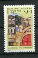 Andorre ** N° 476- Femme Célèbre - Europa 96 - Europa-CEPT