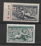 France 937\938a** (avec Bande Pub.) Cote 31€. - France