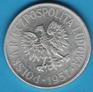 POLAND 50 GROSZY 1957  Y# 48  RZECZPOSPOLITA POLSKA LUDOWA - Pologne
