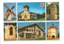 32 - GERS . ARCHITECTURES RURALES DU GERS . MULTIVUES - Réf. N°9978 - - Non Classés