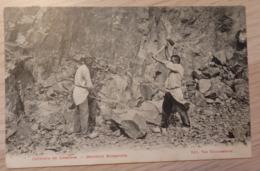 Lessines - Carrière De Lessines - Ouvriers Rompeurs - Ed: Van Nieuwenhove - Circulé: 1911 - 2 Scans. - Lessines