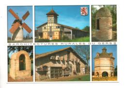 32 - GERS . ARCHITECTURES RURALES DU GERS . MULTI-VUES - Réf. N°9979 - - Non Classés