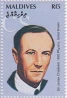 Sir James Chadwick, British Physicist, Nobel Prize In Physics, MNH Maldives - Fysica