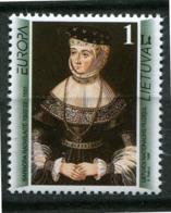 Lituanie ** N° 533 - Femme Célèbre - Europa 96 - Europa-CEPT