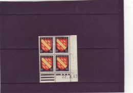 N° 756 - 30c Blason D'ALSACE - A De A+B - 4° Tirage Du 5.3.47 Au 25.3.47 -22.03.1947 - - Coins Datés