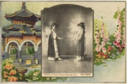 Korea Coree, Native Korean Dancing Girls, Dancing Of Kiisan (1910s) Postcard - Korea, South