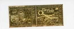 Mauritanie 1974-Skylab Et Jules Verne-YT A144/5***MNH-Argent - Space