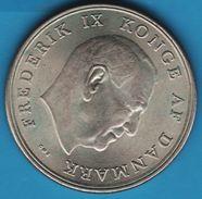 DANMARK 5 KRONER 1964 Frederik IX  KM# 853 - Dänemark