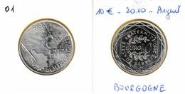10 Euro En Argent 900 De La Région Bourgogne - France 2010 - France