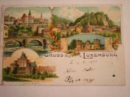COLMAR-BERG - LITHO 1901 - Colmar – Berg