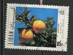 Liban - Libanon - Lebanon Poste Aérienne 1971 Y&T N°PA538 - Michel N°1124 (o) - 85p Oranger - Liban