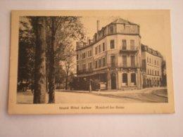 MONDORF-LES-BAINS - GRAND HOTEL AULNER - Mondorf-les-Bains
