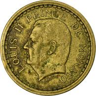 Monnaie, Monaco, Louis II, 2 Francs, Undated (1943), Poissy, TB+ - Mónaco