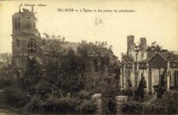59 SEC-BOIS L'EGLISE ET LES RUINES DU PRESBYTERE / A 574 - Francia