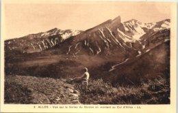04 - ALLOS -- Vue Sur La Vallée Du Verdon En... - Autres Communes