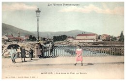 88 SAINT DIE - Vue Prise Du Pont Du Breuil - Saint Die
