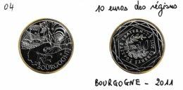 10 Euro En Argent 500 De La Région Bourgogne - Monuments Hospices De Beaune Basilique De Vézelay - France 2011 - France