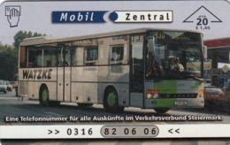 AUSTRIA - Verbundlinie 1 (Bus) , F564 , Tirage 676, 03/01 - Oostenrijk