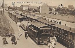 RIXENSART / BOURGEOIS - Arrêt Du Tram - Belle Carte - TRES RARE - *125* - Rixensart