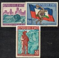 APR29669- HAITI 1959 , Posta Aerea Serie Yvert N. 173/175  ***  MNH  (2380A) - Haiti