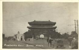 Korea Coree, SEOUL KEIJO, Namdaemun South Gate, Sungnyemun 1910s RPPC Postcard 1 - Korea, South